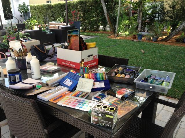 Art Supplies Miami 2013