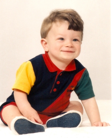 Ethan Hosta Yearbook Baby Pic
